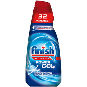 Detergent de vase FINISH gel All In One Max Regular, 650