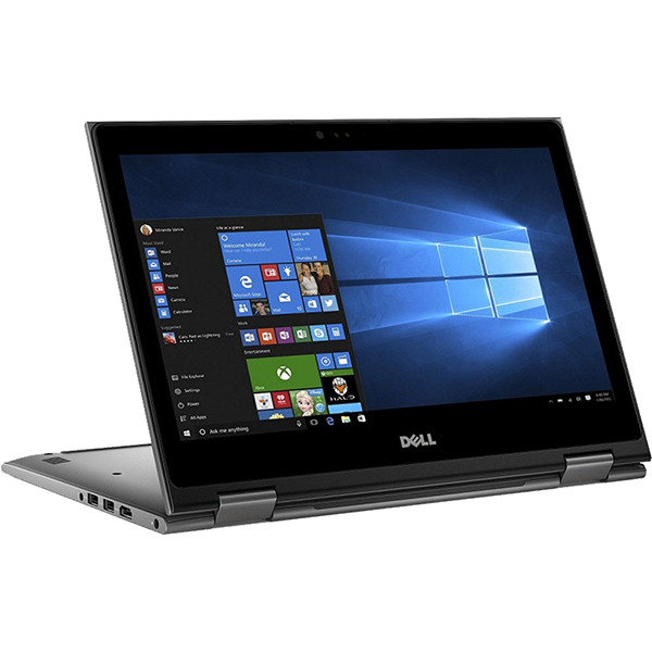 "Laptop 2 in 1 DELL Inspiron 5379, Intel® Core™ i7-8550U pana la 4.0GHz, 13.3"" Full HD Touch, 16GB, SSD 512GB, Intel® UHD Graphics 620, Windows 10 Pro"