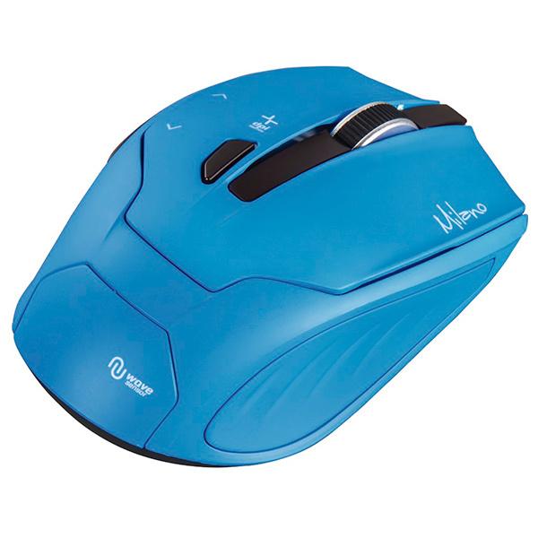 Mouse Wireless HAMA Milano, 2400 dpi, albastru
