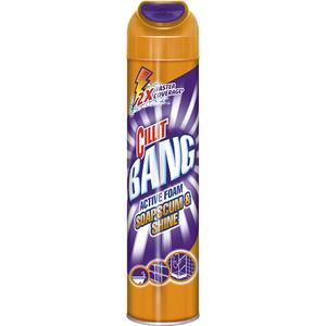 Detergent dezinfectat spuma activa CILLIT Bang, 600ml