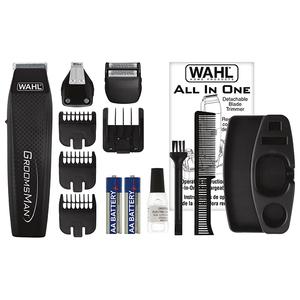 Aparat de tuns barba WAHL Groomsman All in One 5537-3016, baterie, negru