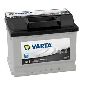 Baterie VARTA 12V 56AH 480A black Dynamic C15