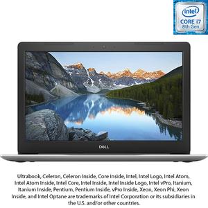 "Laptop DELL Inspiron 5570, Intel® Core™ i7-8550U Processor 8M Cache, up to 4.00 GHz, 15.6"" Full HD, 8GB, HDD 1TB + SSD 128GB, AMD Radeon 530 4GB, Ubuntu, argintiu"