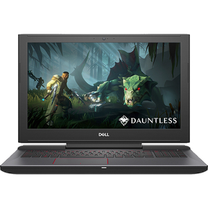 "Laptop Gaming DELL G5 5587, Intel® Core™ i7-8750H pana la 4.1GHz, 15.6"" UHD, 16GB, 1TB + SSD 512GB, NVIDIA GeForce GTX 1060 6GB, Ubuntu"