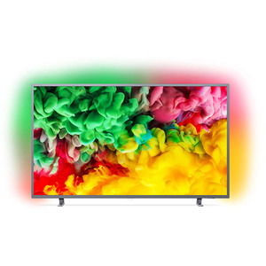 Televizor LED Smart Ultra HD 4K, HDR, Ambilight, 139 cm, PHILIPS 55PUS6703/12