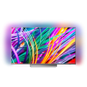 Televizor LED Smart Ultra HD 4K, HDR, Ambilight, 139 cm, PHILIPS 55PUS8303/12