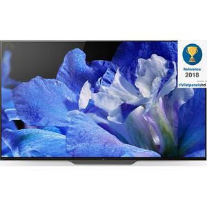 Televizor OLED Smart Ultra HD, Android, 4K HDR, 139 cm, Sony BRAVIA KD-55AF8B, Negru