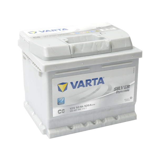 Baterie auto VARTA Silver 5524010523, 52AH, 520A, C6