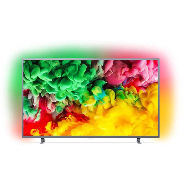 Televizor LED Smart Ultra HD 4K, HDR, Ambilight, 139 cm, PHILIPS 55PUS6703/12