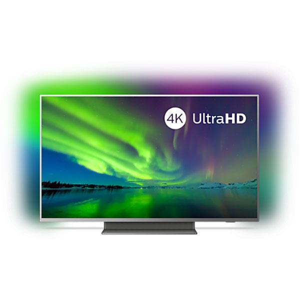 Televizor LED Smart Ultra HD 4K, HDR, Ambilight, 139 cm, PHILIPS 55PUS7504/12
