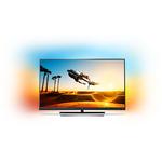 Televizor LED Smart Ultra HD, Android, Ambilight, 139cm, PHILIPS 55PUS7502/12