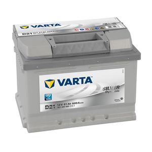 Baterie VARTA 12V 61AH 600A silver Dynamic D21