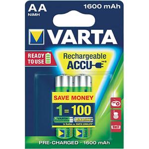 Acumulatori AA VARTA 56716101402, 1600 mAh, 2 bucati