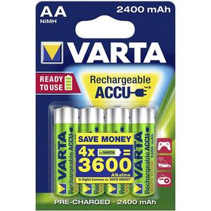 Acumulatori AA VARTA 56756101404, 2400 mAh, 4 bucati