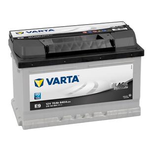 Baterie VARTA 12V 70AH 640A black Dynamic E9