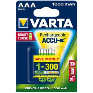 Acumulatori AAA VARTA 5703301402, 1000 mAh, 2 bucati