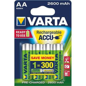 Acumulatori AA VARTA 5716101404, 2600 mAh, 4 bucati