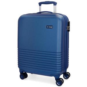 Troler EL POTRO Ride, 55cm, 4 roti, albastru