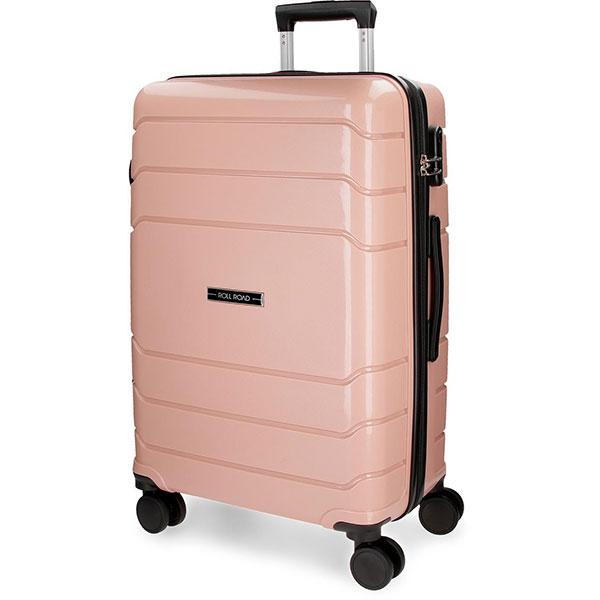Troler ROLL ROAD Fast 58692.65, 68 cm, roz-pal