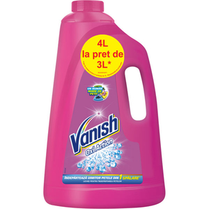 Solutie VANISH Pink, 3l+1l