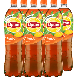 Ice Tea LIPTON Piersici bax 1.5L x 6 sticle