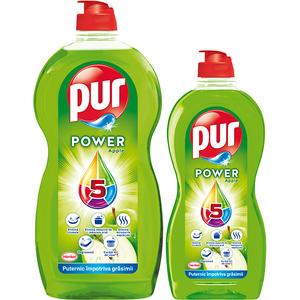 Detergent de vase PUR Apple, 1.35l + 450ml