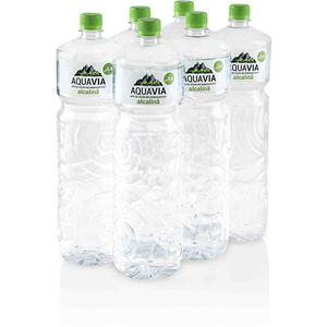 Apa plata alcalina AQUAVIA bax 2L x 6 sticle