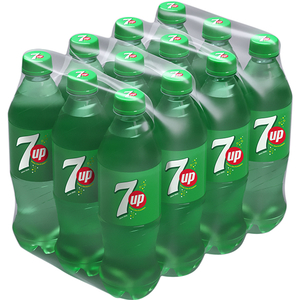 Bautura racoritoare carbogazoasa 7UP Lemon Lime bax 0.5L x 12 sticle