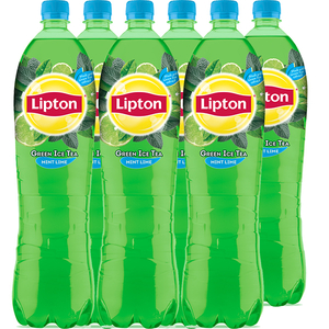 Ice Tea LIPTON Green Lime mint bax 1.5L x 6 sticle