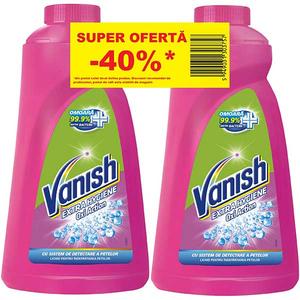 Solutie VANISH Extra Hygiene, 2x940ml