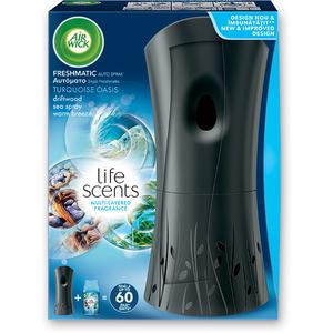 Odorizant camera AIR WICK Freeshmatic Complete Turquoise Oasis, 250ml