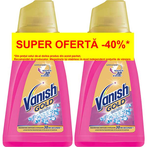 Solutie VANISH Gold Gel, 2x940ml