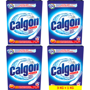 Tablete anticalcar CALGON 2 in 1 Protect Clean, 3kg+1kg