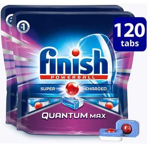 Detergent de vase FINISH Quantum Max, 120 bucati