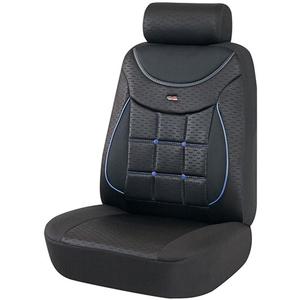Set huse scaune OTOM Silver 613, negru-albastru