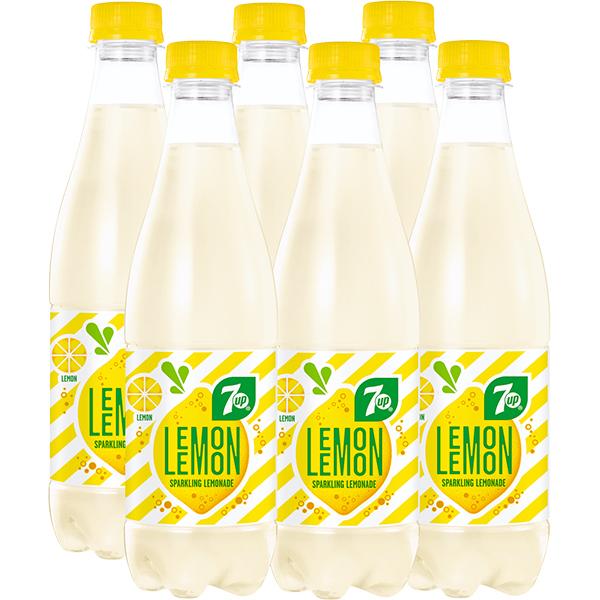 Limonada 7UP Lemon bax 0.5L x 6 sticle