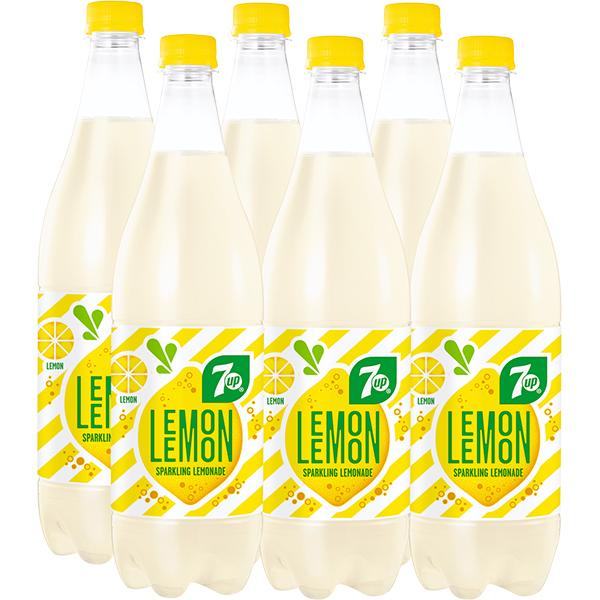 Limonada 7UP Lemon bax 1L x 6 sticle