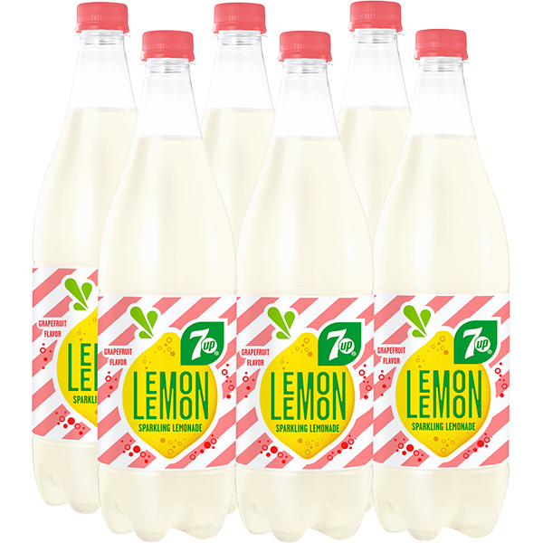 Limonada 7UP Lemon Grapefruit bax 1L x 6 sticle