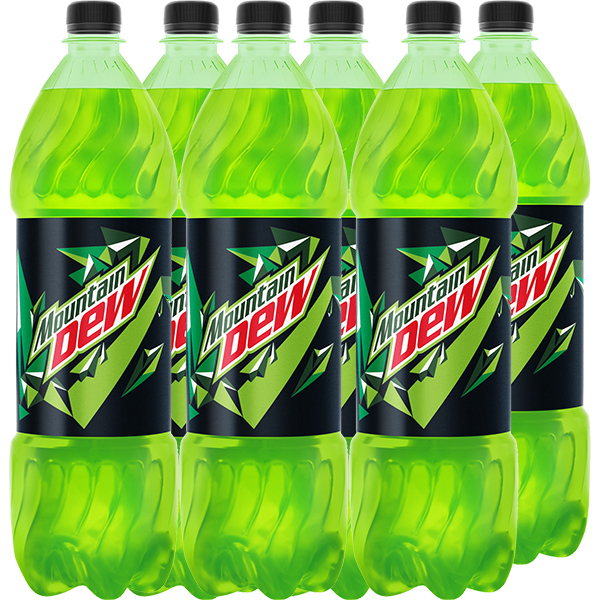 Bautura racoritoare carbogazoasa MOUNTAIN DEW bax 1.25L x 6 sticle