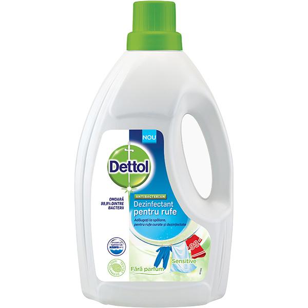 Dezinfectant Haine Dettol Fara Parfum 15l