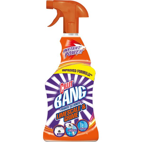Detergent dezinfectat CILLIT Bang Cleaner Limescale/Shine, 750ml