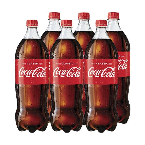 Bautura racoritoare carbogazoasa COCA COLA Original Taste bax 1.25L x 6 sticle
