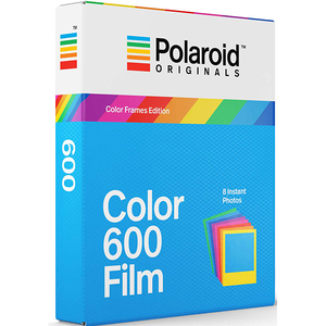 Film Instant color POLAROID Originals pentru Polaroid 600, margini colorate