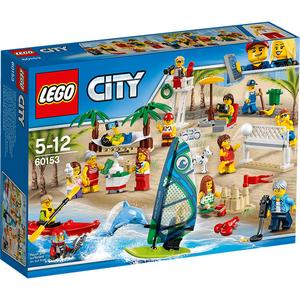 LEGO City: Comunitatea orasului - Distractie la plaja 60153, 5 - 12 ani, 169 piese