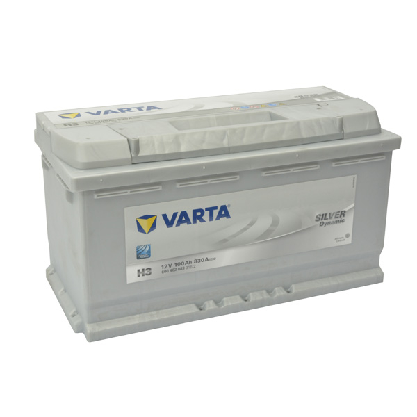 Baterie auto VARTA Silver 6004020833, 100AH, 830A, H3