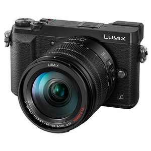 Aparat foto Mirrorless PANASONIC DMC-GX80, 16 MP, Wi-Fi, negru + Obiectiv 14-140mm
