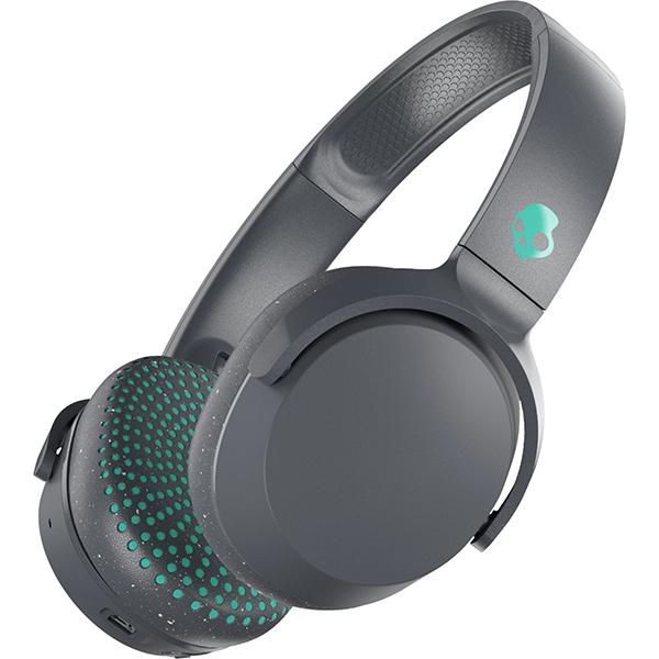 Casti SKULLCANDY Riff S5PXW-L672, Bluetooth, On-Ear, Microfon, gri