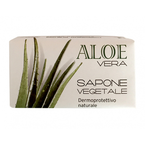 Sapun vegetal LA DISPENSA, cu gel de Aloe Vera, 145g