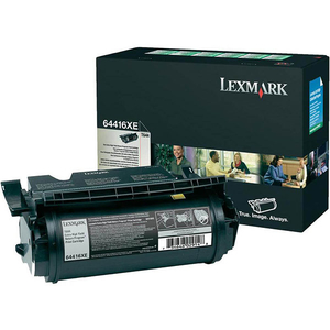 Toner LEXMARK XXL 64416XE T644 Return Program, negru