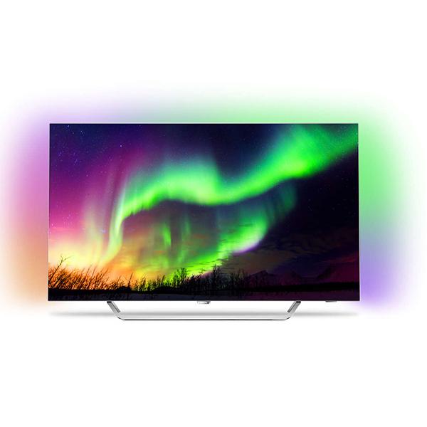 Televizor OLED Smart Ultra HD 4K, HDR, Ambilight, 164 cm, PHILIPS 65OLED873/12